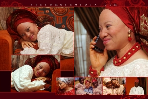 wedding album photobook style for Adebimpe and Olusola